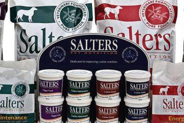 Salters Free Dog Food Samples